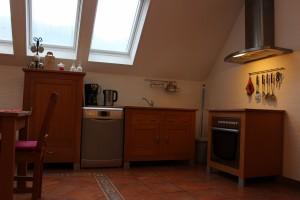 Ferienwohnung W2 - Küche