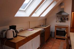 Ferienwohnung W4 - Küche