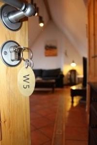 Ferienwohnung W5 - Eingang